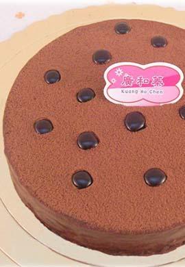 素食無蛋巧克力蛋糕8吋(含運)