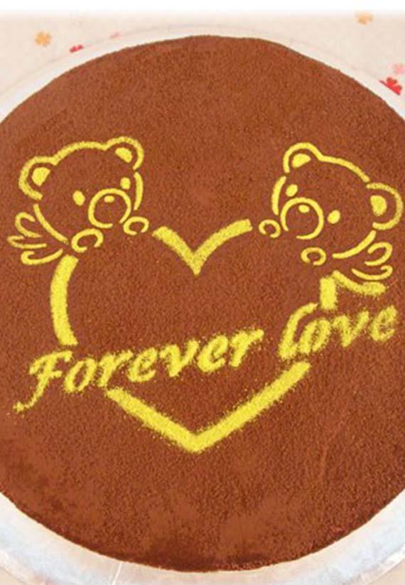 熊愛你造形蛋糕8