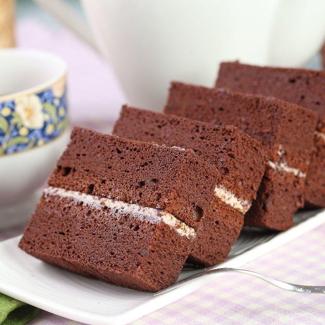 免運破盤商品 巧克力金磚蛋糕6入x3盒