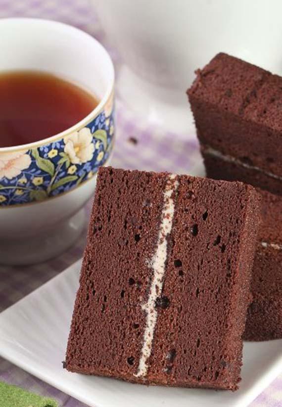 點心必buy蛋糕-巧克力金磚8入*4盒(含運)
